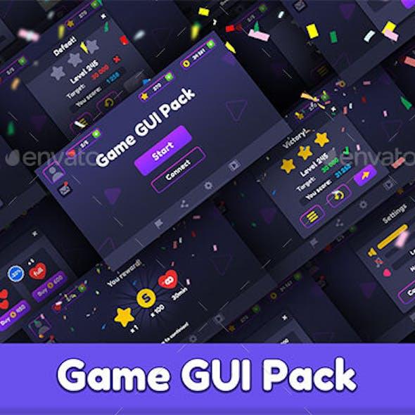 Flat Game GUI Pack