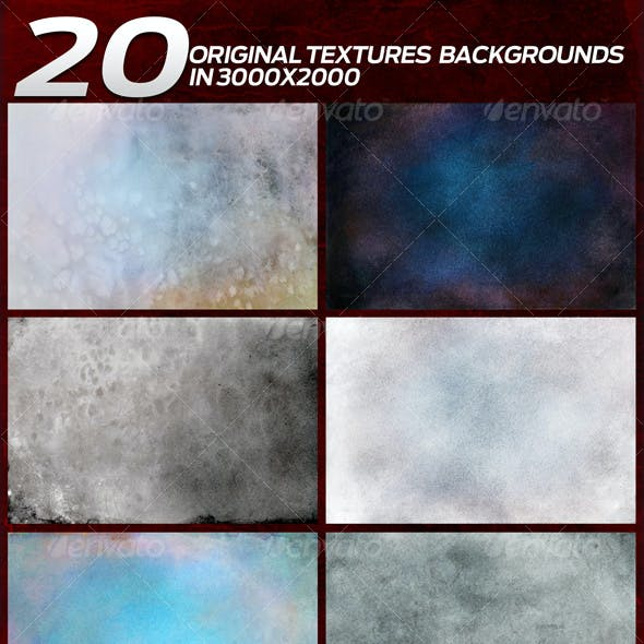 20 Original Textures/Backgrounds in 3000x2000
