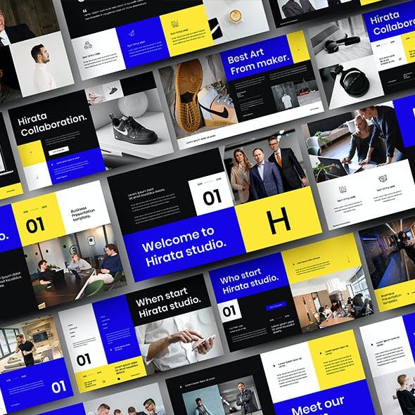 Hirata – Business Google Slides Template