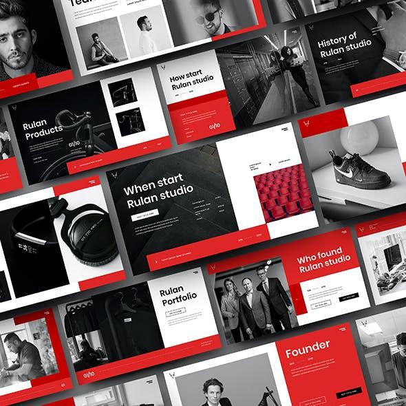 Rulan – Business Google Slides Template