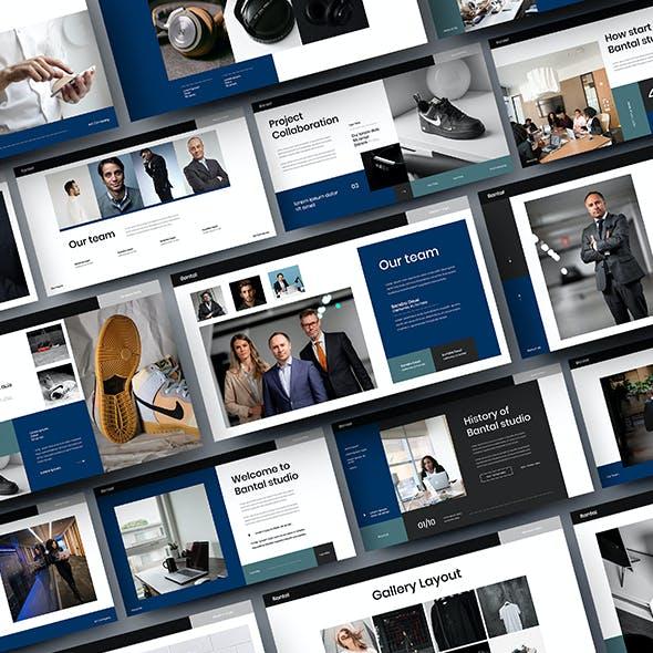 Bantal – Business Google Slides Template