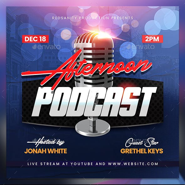 Podcast Flyer