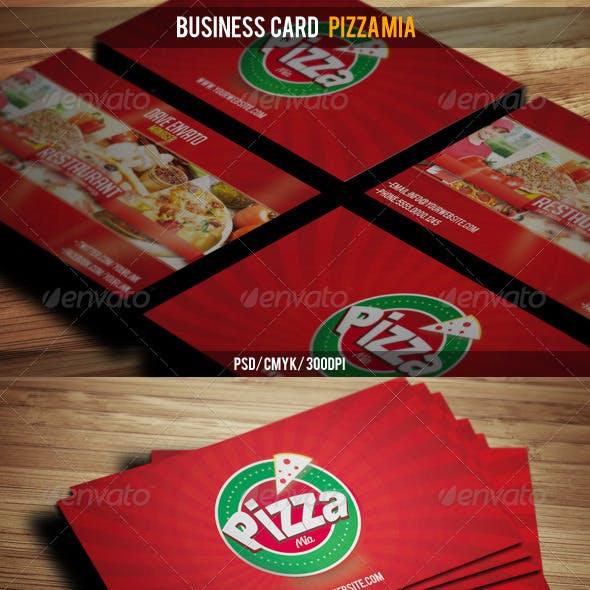 Business Card Pizza Mia