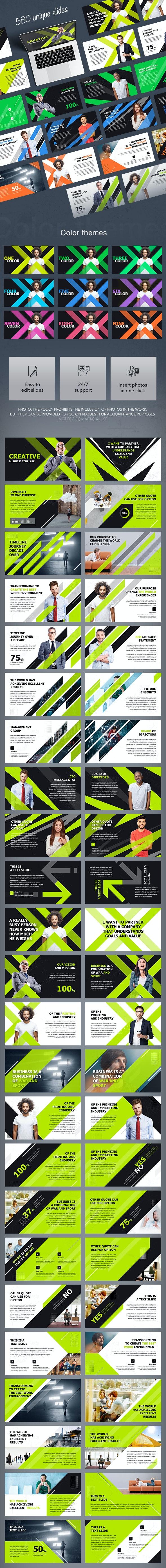 Creative Business Slides - Creative Keynote Templates