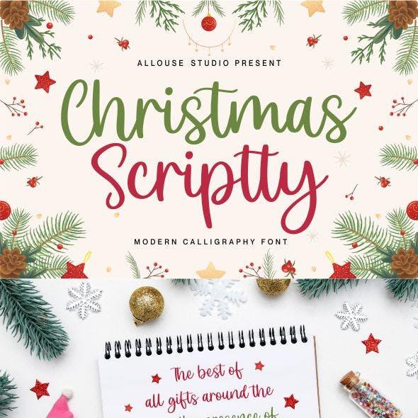 Christmas Scriptty