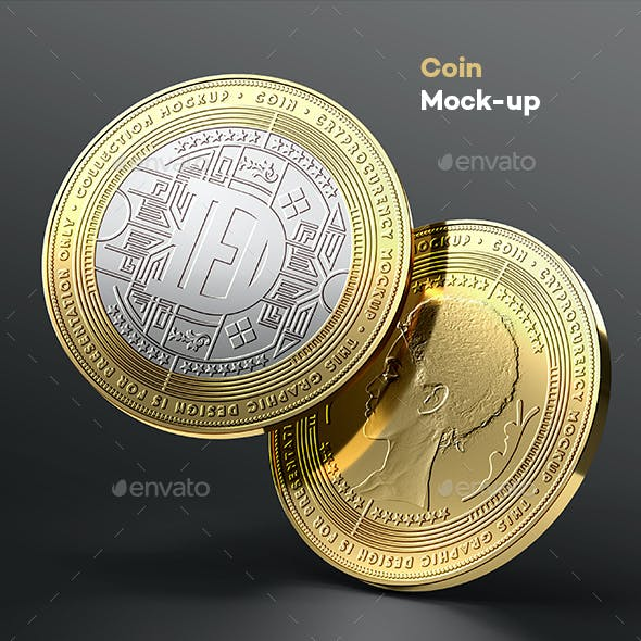 Coin Mock-up