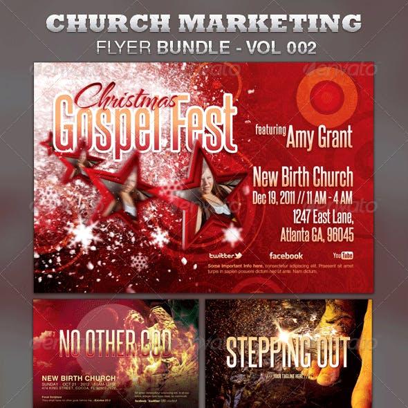 Church Marketing Flyer Bundle Vol-002