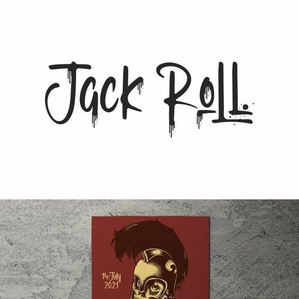Jack Roll Graffiti Font