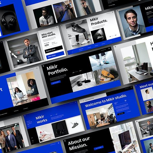 Mikir – Business Google Slides Template