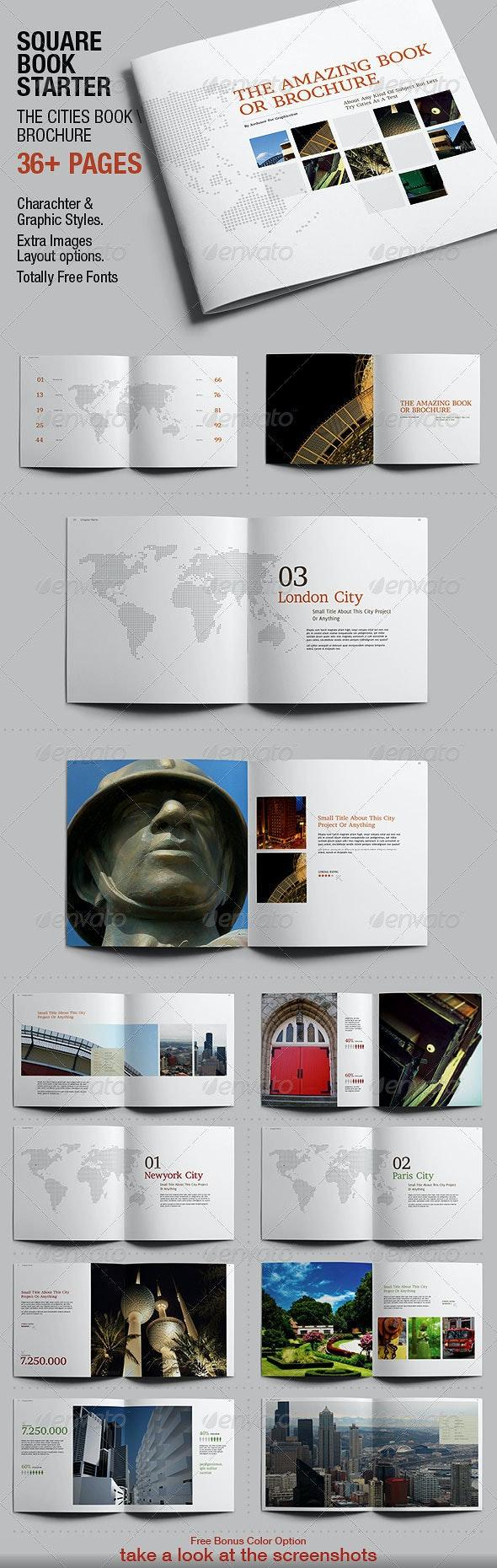 Squarebook Starter - Brochures Print Templates