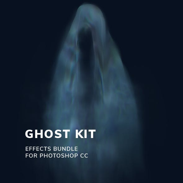 Ghost Kit for Photoshop CC