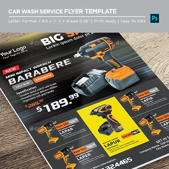 Product Flyer - Impact Wrench