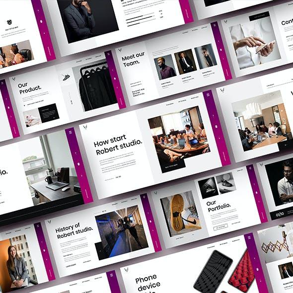 Robert – Business Google Slides Template