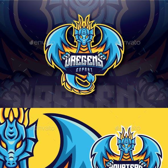Dregens mascot Esport Logo