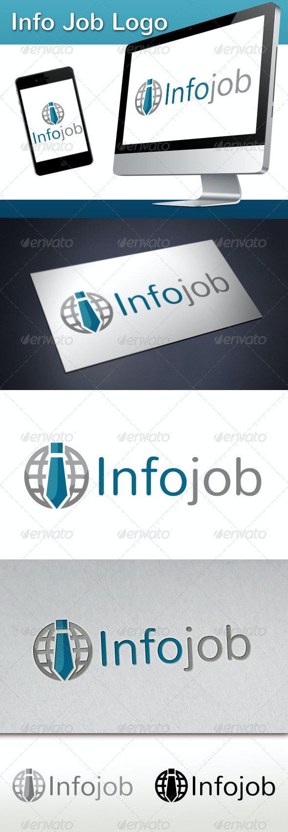 Info Job Logo - Humans Logo Templates