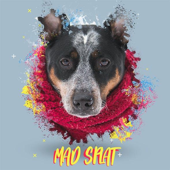 Mad-Splat Colorful Photo Splatter Action