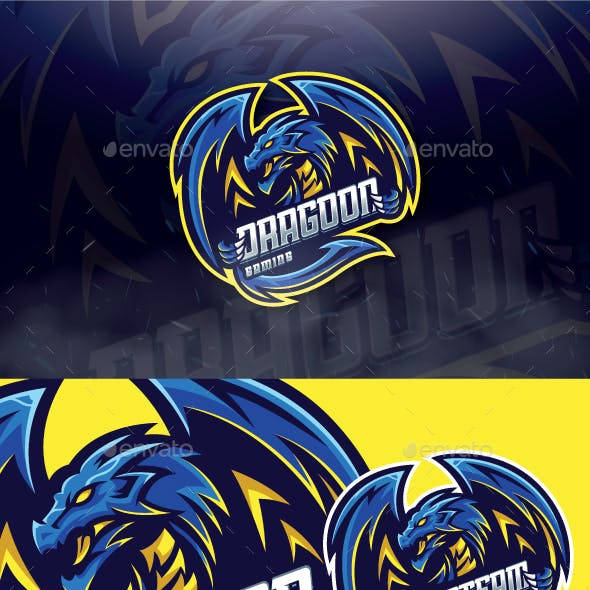Dragoon Mascot Esport Logo