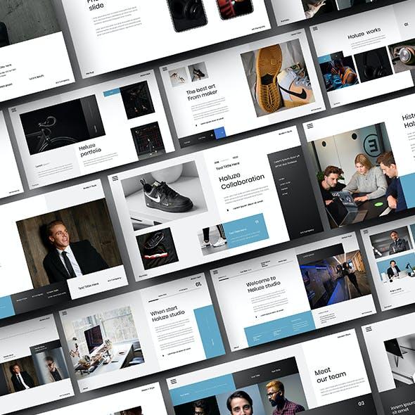 Haluze – Business Google Slides Template