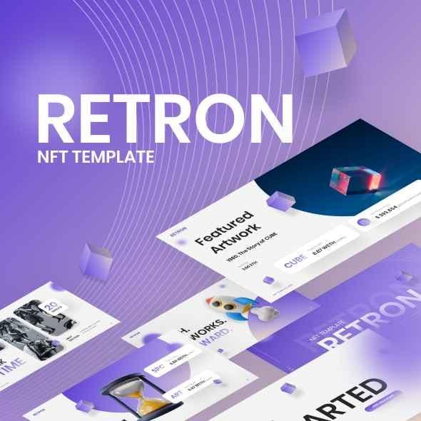 Retron NFT Modern PowerPoint Template