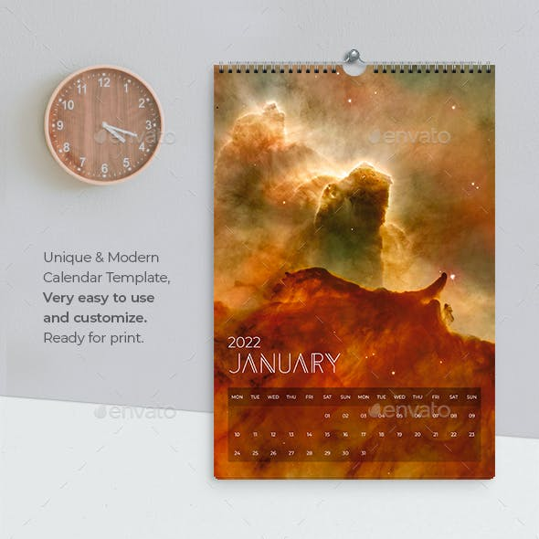 Calendar 2022 Universe