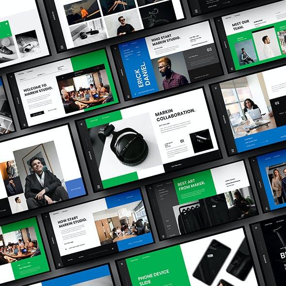 Markin – Business Keynote Template