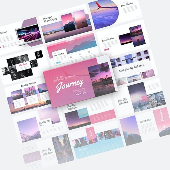 Journey  Traveling Presentation Template