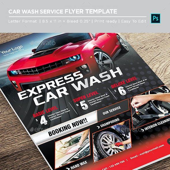 Express Car Wash Flyer