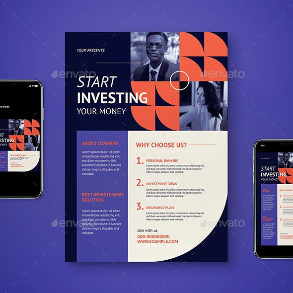 Investment Flyer Set