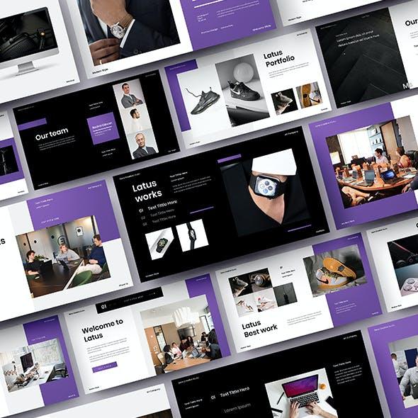 Latus – Business Google Slides Template