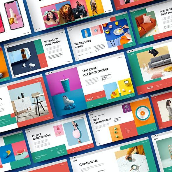 Farid – Business Google Slides Template