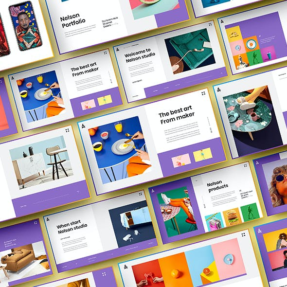 Nelson – Business Google Slides Template