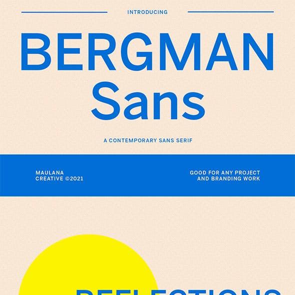 Bergman Sans Font
