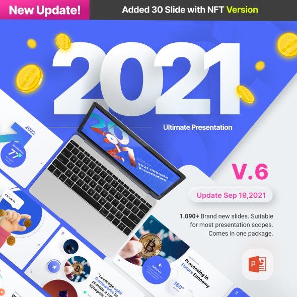 2021 Ultimate Multipurpose Premium PowerPoint Presentation Template - Business PowerPoint Templates