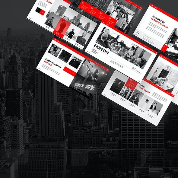 Ekreon – Business Google Slides Template