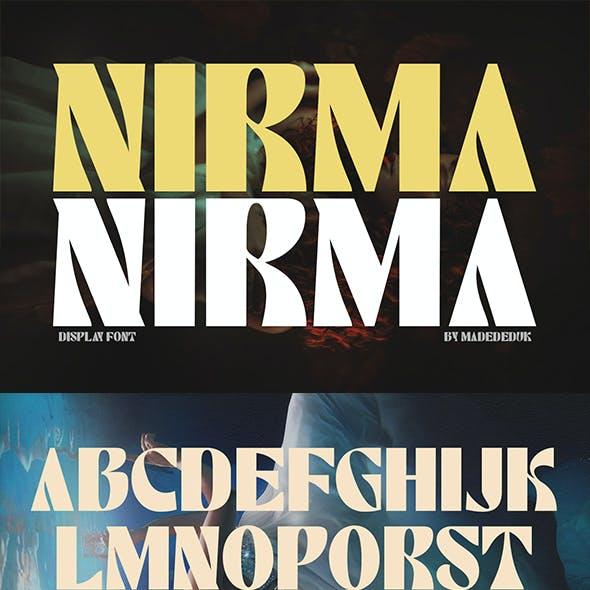 Nirma - Display Font