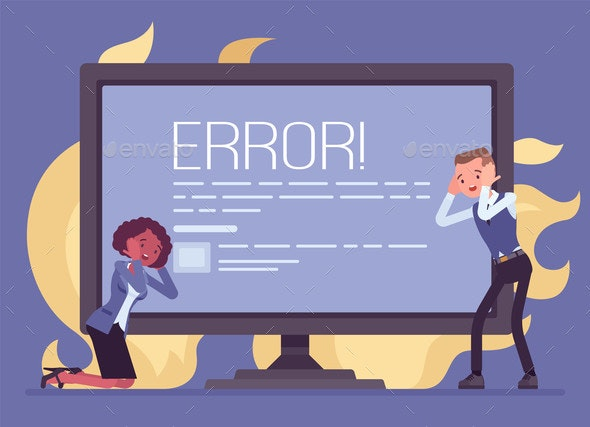 Computer Blue Screen of Death Stop Error Fatal - Computers Technology