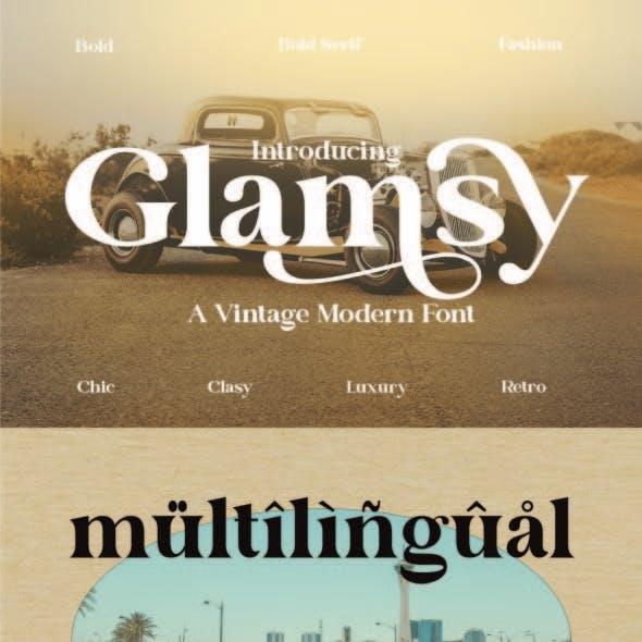 Vintage Modern Font