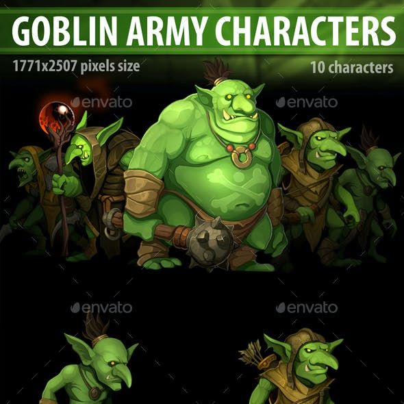 Goblin Army Characters