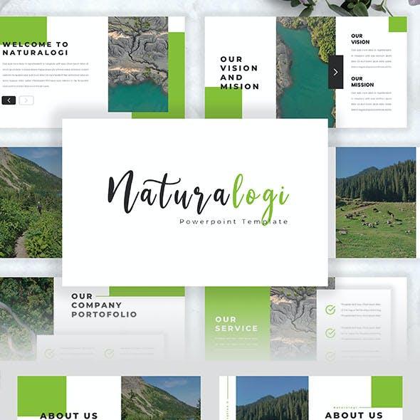 Naturalogi – Health and Nature Google SLide Template