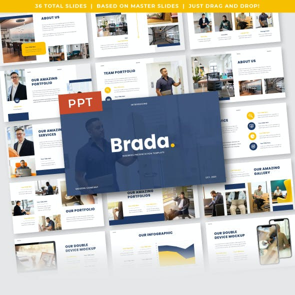 Brada - Business PowerPoint Template