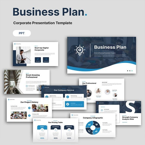 Business Plan - Multipurpose Presentation PowerPoint Template