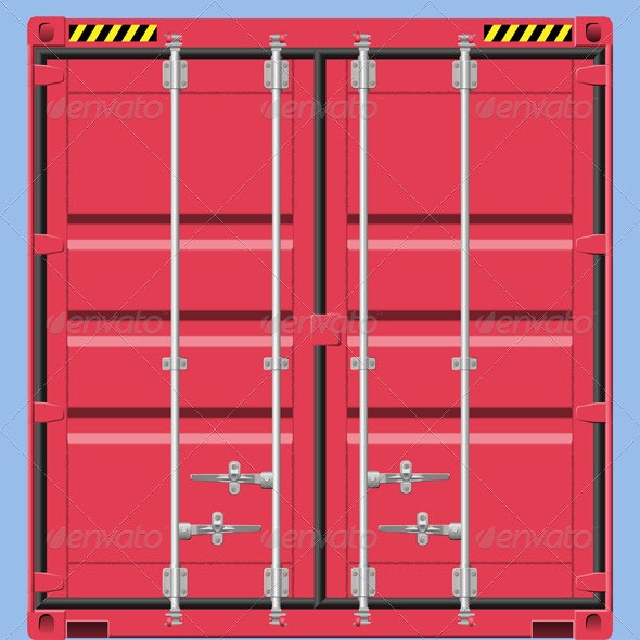 Freight Container - Miscellaneous Vectors