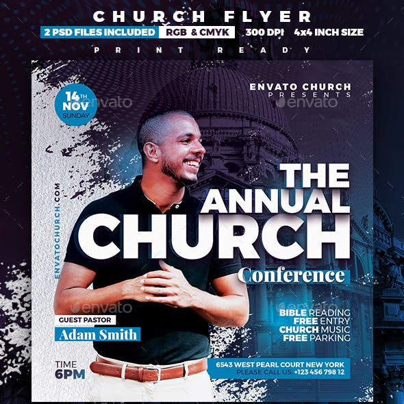 The Annual Church Flyer