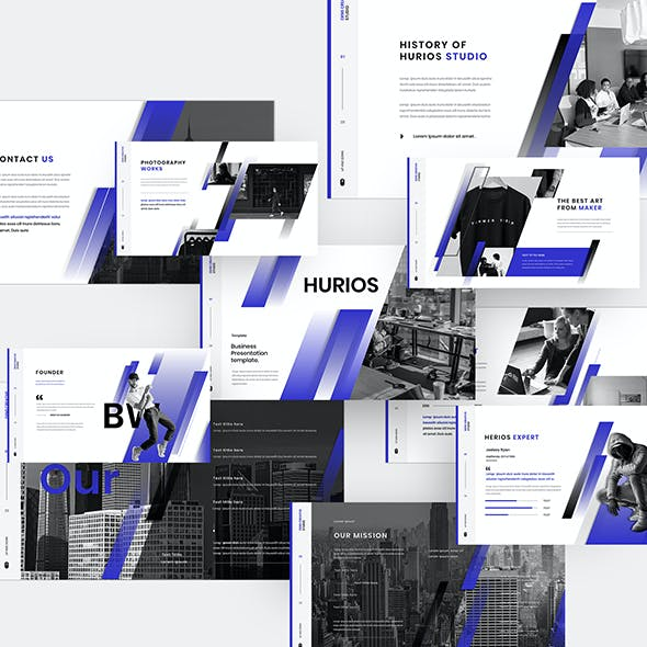 Hurios – Business Keynote Template