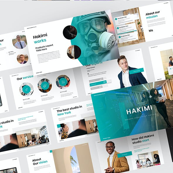 Hakimi – Business Keynote Template