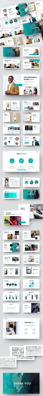 Hakimi – Business Keynote Template - Business Keynote Templates