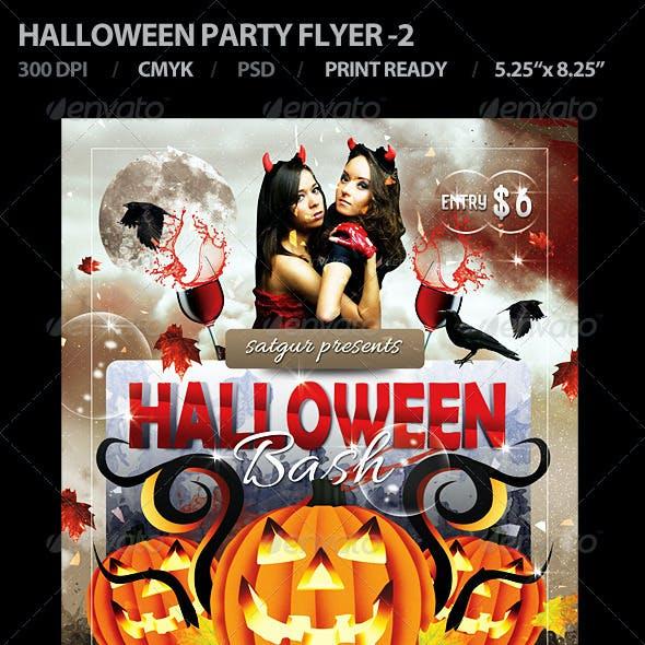 Halloween Party Flyer - 2