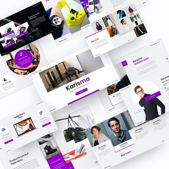 Karisma – Business PowerPoint Template