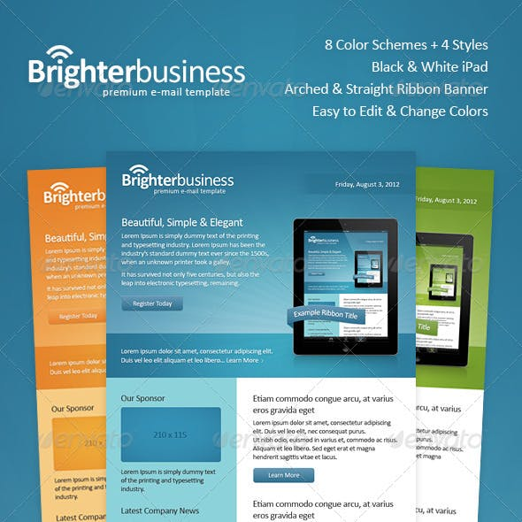 Brighter Business Email Template