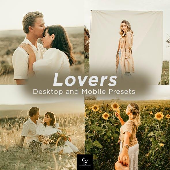 6 Lovers Lightroom Presets